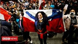 Jubilation as Chile votes to rewrite constitution