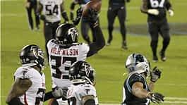 Falcons vs. Panthers score, results: Atlanta's defense shuts down Carolina in second half