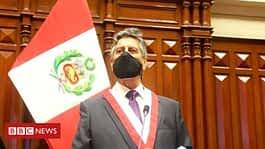 Francisco Sagasti sworn in as interim Peruvian leader