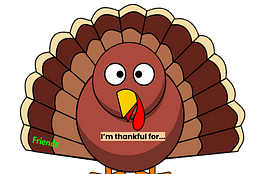 How to Make Digital Thanksgiving Thankfulness Turkeys