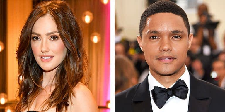Minka Kelly and Trevor Noah Seen Together in New York City