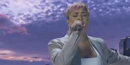 Watch Demi Lovato's Passionate Inauguration Performance for Joe Biden