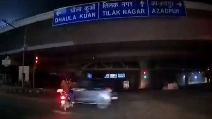 Delhi hit run case dashboard camera video helped police to solve fatal hit and run case