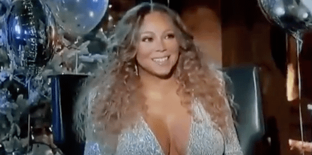 Mariah Carey Had an Iconic Response to J.Lo's New Year's Eve Performance