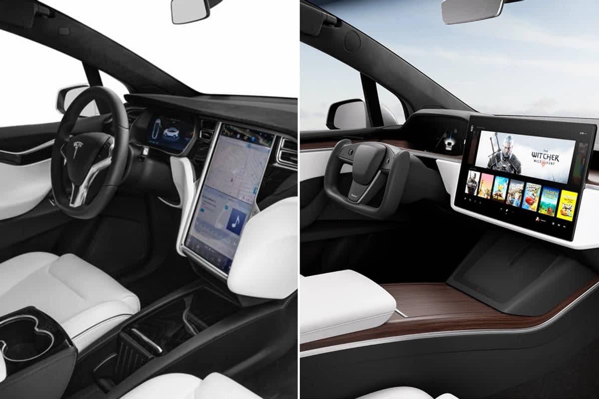 2021 Tesla Model S, Model X Get Interior Refresh but No Shifter | News - NewsHanger